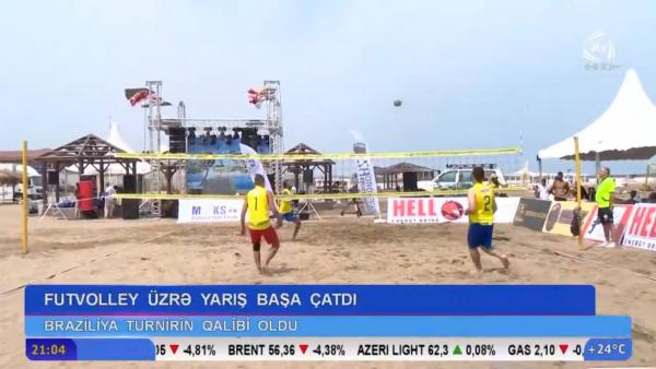 Baku World Open International Footvolley Tournament - 2019 ATV-də