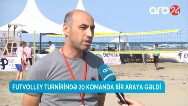 "Baku World Open International Footvolley Tournament"" 2019 ARB24-də"